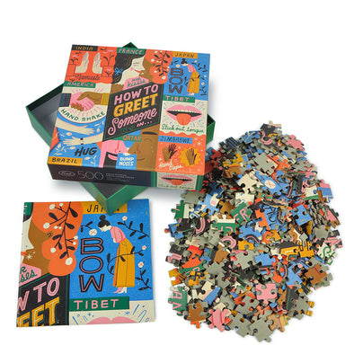 Artist Series Collection | 500 Piece Puzzles