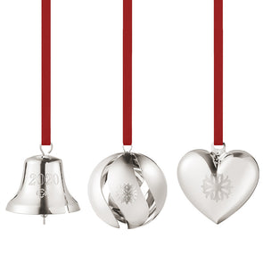 Georg Jensen 2020 Christmas Collectible Set of Three