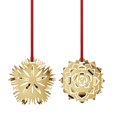 Georg Jensen 2020 Christmas Collectibles Ice Dianthus and Rosette