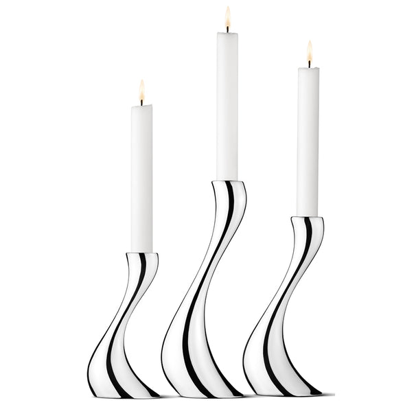 Cobra Candlesticks | Set of Three
