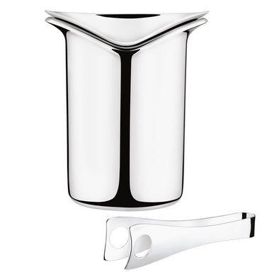 Georg Jensen Wine & Bar Ice Bucket with Tongs 3586961