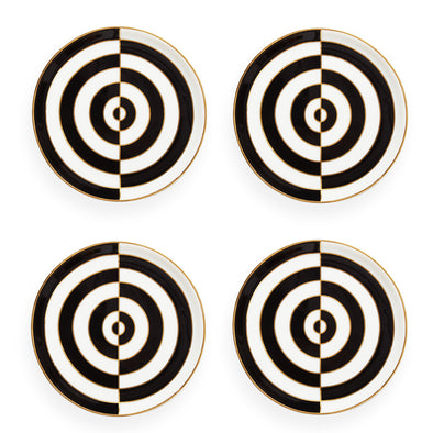 Jonathan Adler Op Art Coasters Set of Four 27272