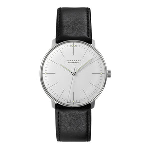 Max Bill Automatic Watch with Black Band