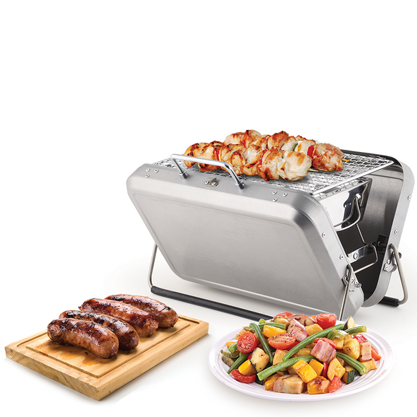 Kikkerland Briefcase Barbecue BQ01