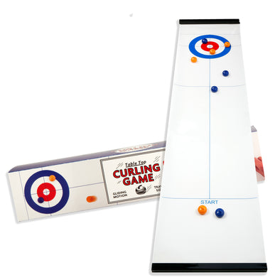 Kikkerland Tabletop Curling Game GG120