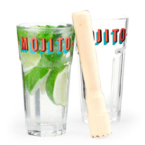 Kikkerland Mojito Glass Set BA63
