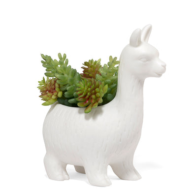 Kikkerland Lloyd the Llama Planter PL08