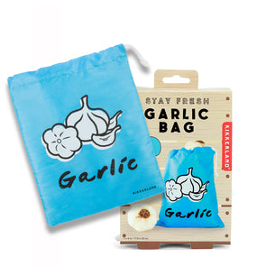 Kikkerland Stay Fresh Garlic Bag CU255
