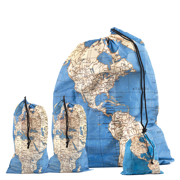 Around the World Travel Bag Set