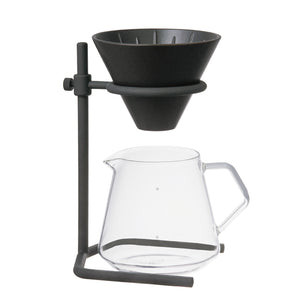 Kinto S04 Brewer Stand Set Black SCS-04
