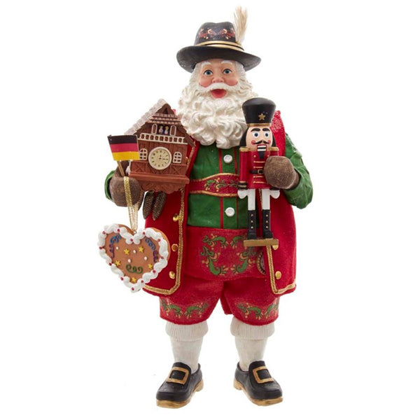Musical German Santa