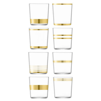 LSA International Deco Glasses LG1337-13-216