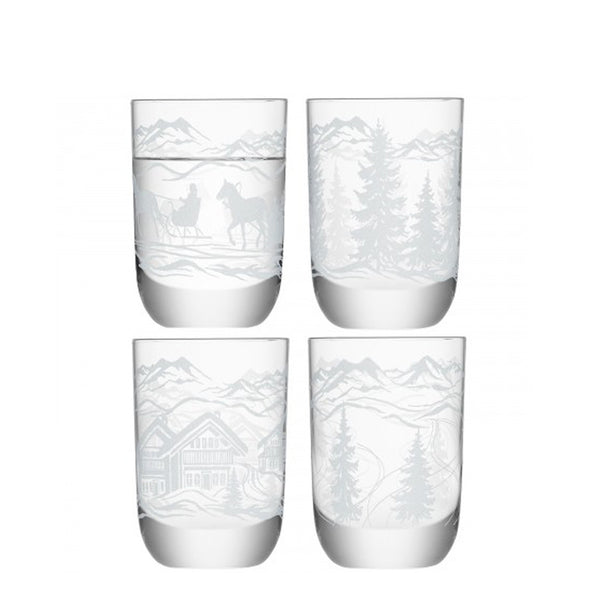 Tirol Vodka Glasses