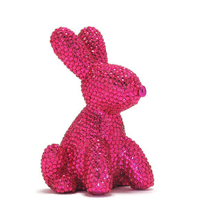 Made by Humans 2 Glam Balloon Money Bank Pink Bunny