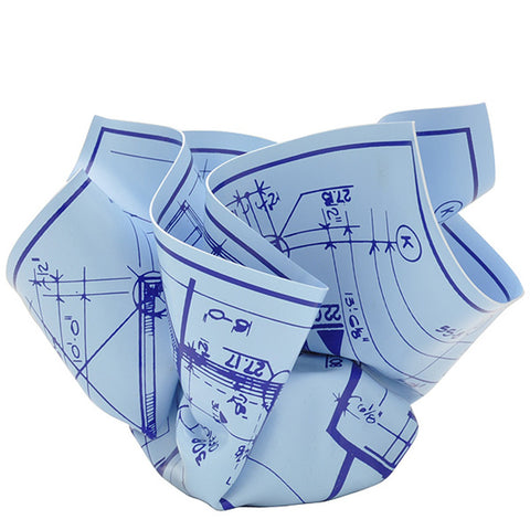 Architect's Blueprint Paperweight