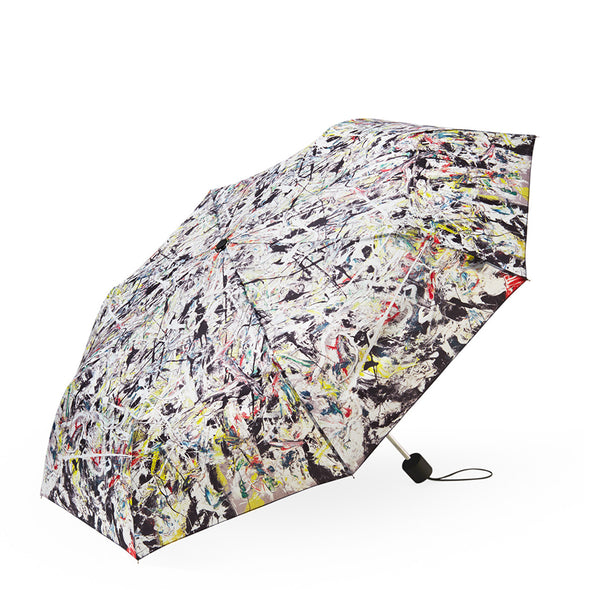 MoMA White Light Collapsible Umbrella M108054