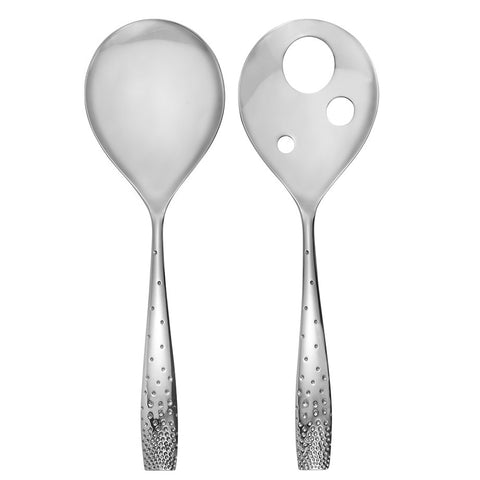 Nambé Dazzle Salad Servers 7563