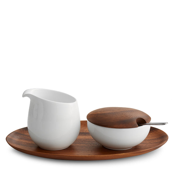 Nambé Skye Sugar and Creamer Set MT0866