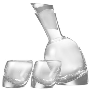 Nambé Tilt Decanter Set 5800