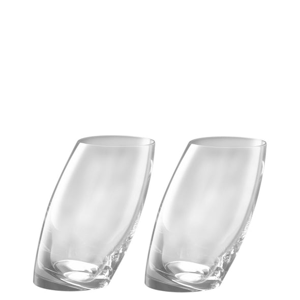 Nambé Tilt Highball Glasses 5877