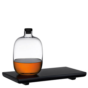 Malt Whiskey Bottle and Tray