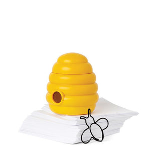 Busy Bees Paper Clips & Container