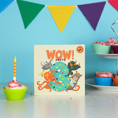 Wow! Birthday Books