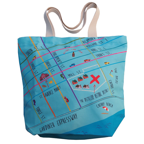 Distillery District Tote Bag