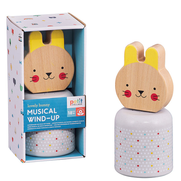 Lovely Bunny Musical Wind-Up