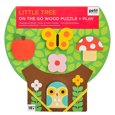 Little Tree On-the-Go Puzzle + Play