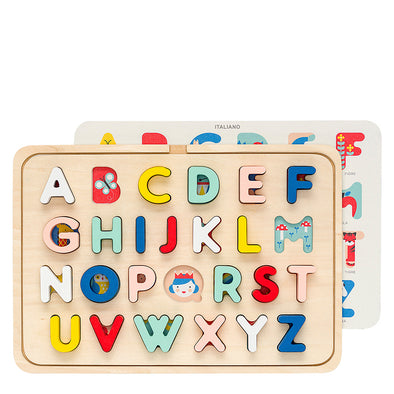 Multi-Language Alphabet Puzzle
