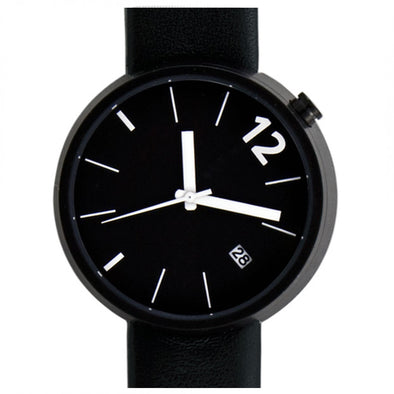 Projects Watches Towards black with white hands
