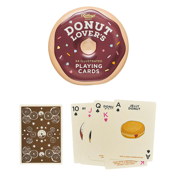 Donut Lover's Playing Cards