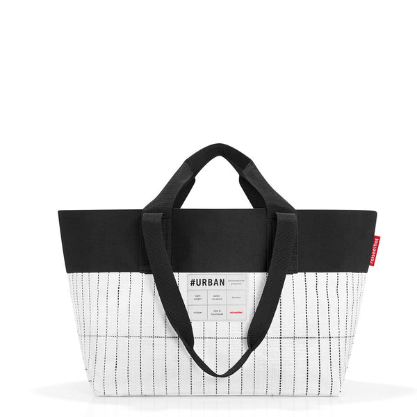 Reisenthel Urban New York Tote Black and White