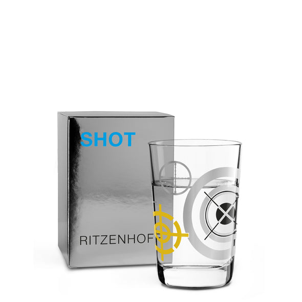 The Next 25 Years | Shot Glass