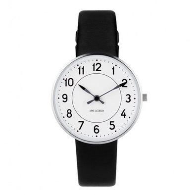 Rosendahl Station Watch Black Band 34mm 43420