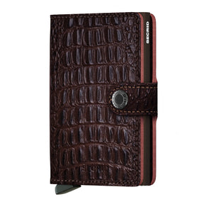 Secrid Miniwallet Nile Collection Brown w/Brown Cardprotector