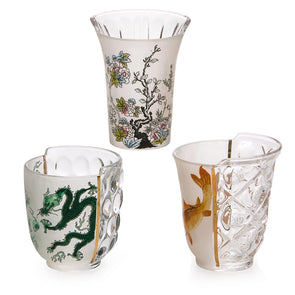 Seletti Aglaura Set of Three Drinking Glasses 09734