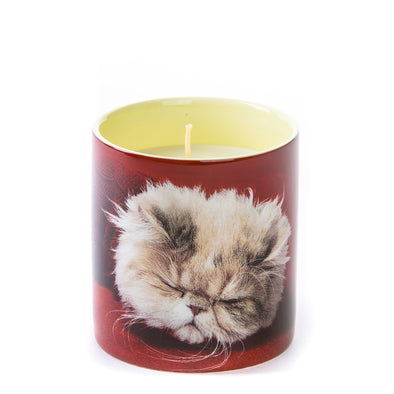 Seletti Wears TOILETPAPER Candle Cat 14044