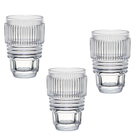 Diesel Living with Seletti Machine Drinking Glasses Large 10901