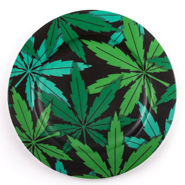 Seletti Studio Job Blow Porcelain Plates Weed 17205