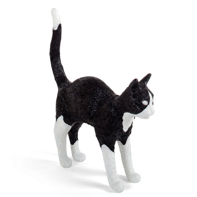 Seletti Jobby the Cat Black and White 15042