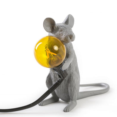 Mouse Lamp | Grey