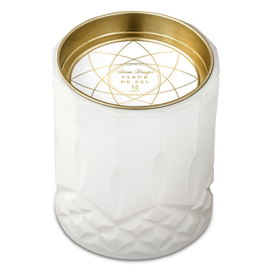 Skeem Design Axiom White Candle Fleur de Sel