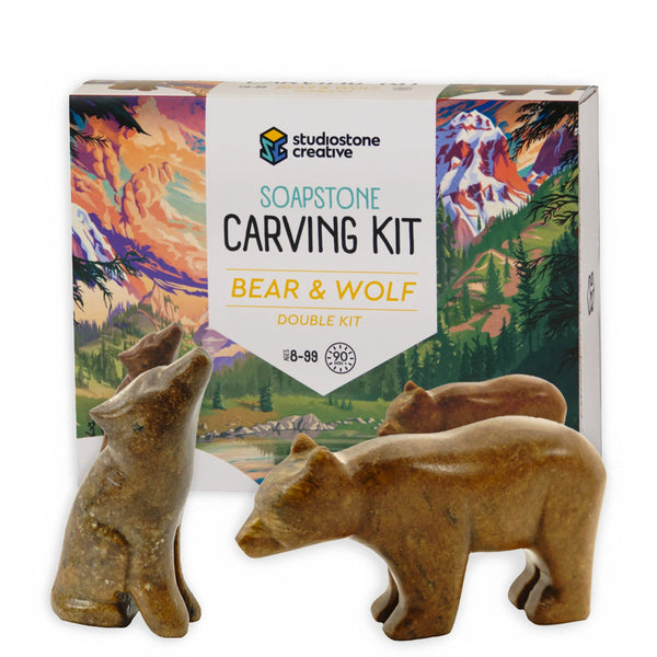 Soapstone Carving Kits
