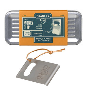 Money Clip with Bottle Opener