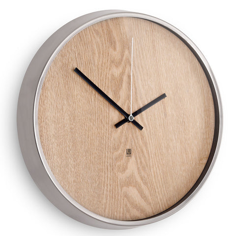 Umbra Madera Wall Clock Natural 118413-392