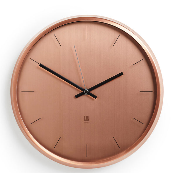 Umbra Meta Wall Clock Copper 1004385-880