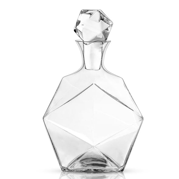 Raye Faceted Decanter