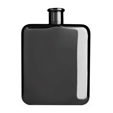 Viski Warren Gunmetal Flask 5369